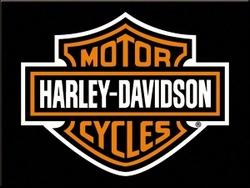 Magneet Harley Davidson logo