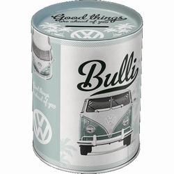 VW Volkswagen Bulli Good things metalen spaarpot