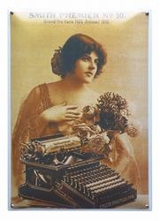 Smith premier Typemachine  50 x 35 cm