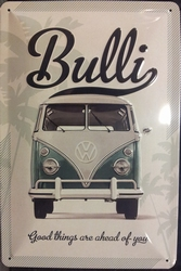 VW Volkswagen Bulli good things reliëf