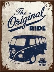 Magneet Volkswagen VW original ride Bus  8 x 6 cm