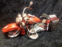 Rode motor metalen model tassen