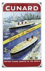 Cunard  33 x 20 cm