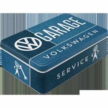VW Volkswagen garage voorraadblik groot