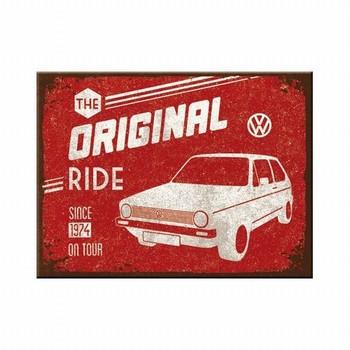 VW Golf magneet volkswagen