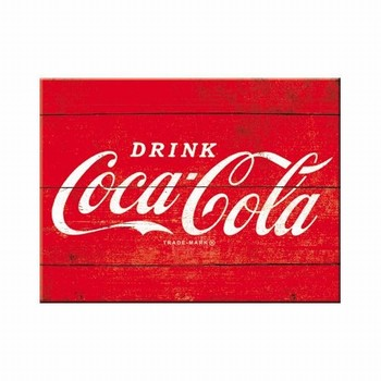 Coca cola rood logo Magneet