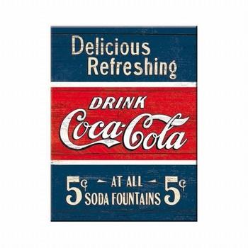Magneet cola rood blauw
