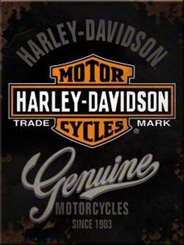 Magneet Harley Davidson genuine motorcycles