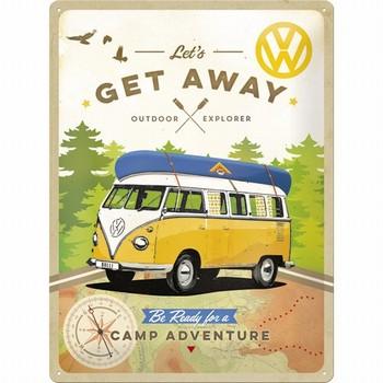 VW Volkswagen get away camp adventure reliëf reclameb