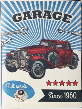 Garage since 1960 wandbord