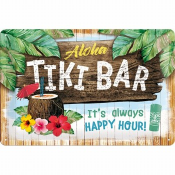 Tiki bar aloha happy hour relief