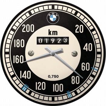BMW teller wandklok