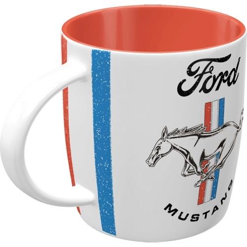 For mustang horse & stripes logo mok