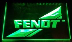 Fendt led lamp groen