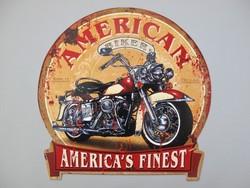 America's finest motor uitgesneden metalen bord
