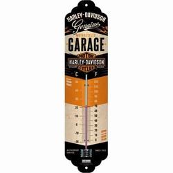 Harley Davidson Garage thermometer metaal