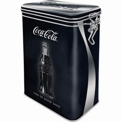 Coca cola sign good taste voorraadblik clip box