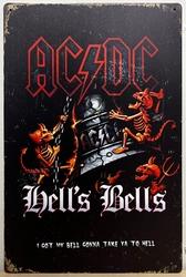 ACDC Hells bells devilmetal sign