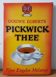 Pickwick thee douwe egberts model OOR emaille