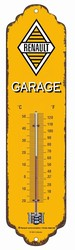 Renault garage thermometer metaal