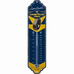 Goodyear tires metalen thermometer
