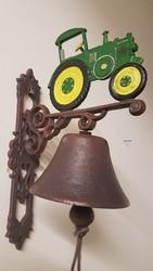 Tractor gietijzeren bel dubbelzijdig