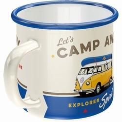 VW Volkswagen camp away emaille mok