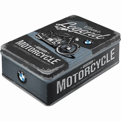 BMW Legends motorcycles superior metalen koekblik voorraad