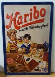 Haribo kinder Froh metalen wandbord RELIEF 30x20