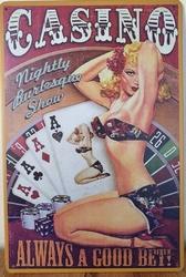 Casino always a good bet reclamebord