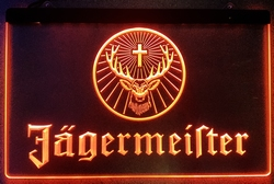 Jagermeister led lamp oranje led
